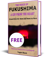 Book cover The Voice of FUKUSHIMA: A Cry from the Heart – Ground Zero 03: Home but Home no More